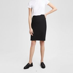 Vintage Theory Knee-Length Black Pencil Skirt